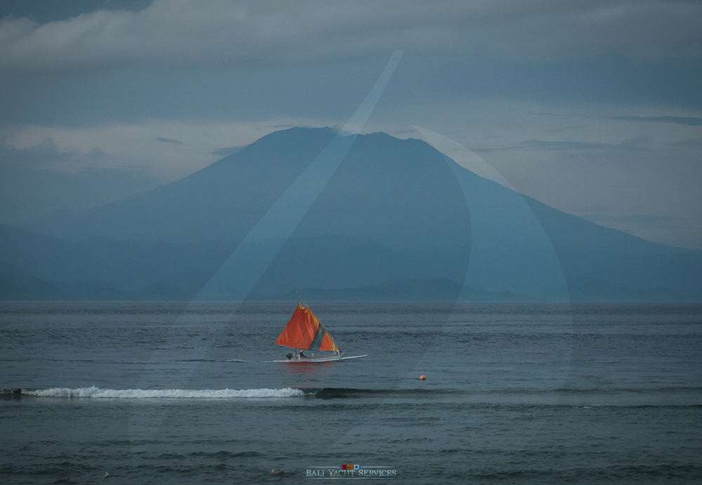 Agung with Sailboat