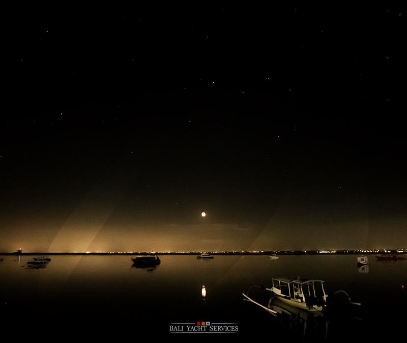 Night Photo Nusa Lembongan