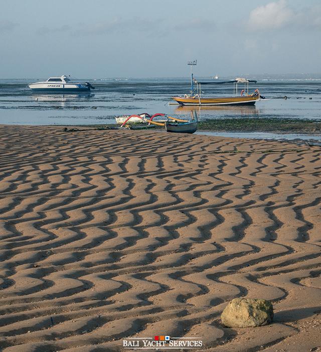 Boats at Sanur, Bali