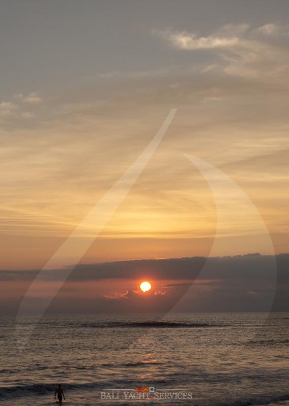 Sunset in Canggu, Bali